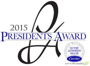 Malek Service Company - President's Award 2015