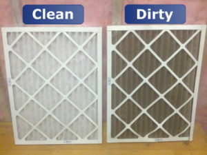 Clean & Dirty Air Filters